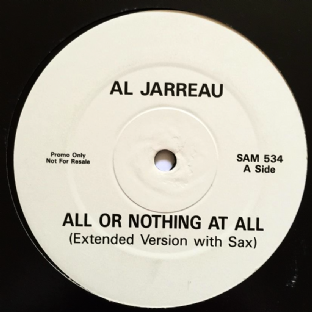 "Al Jarreau - All Or Nothing At All (12"") (Promo) (G/G)"